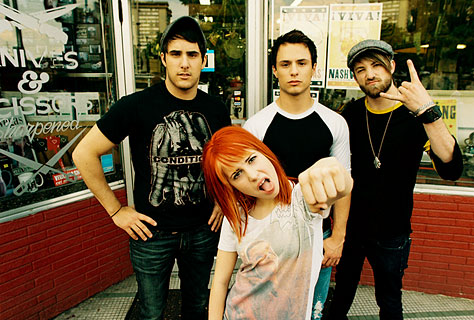 Well you built up a world of magic , Because your real life is tragic  Paramore_maygroup